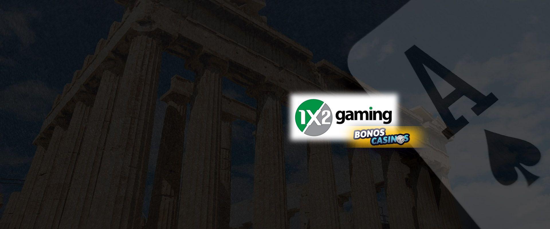 logo de 1x2 Network incursiona en mercado griego para casinos