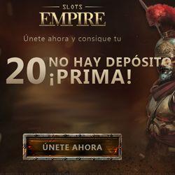 logo de 20$ SIN DEPÓSITO SLOTS EMPIRE