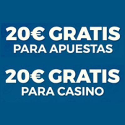 logo de 20€ + 20€ GRATIS CASINO Y APUESTAS DEPORTIVAS PASTÓN CASINO