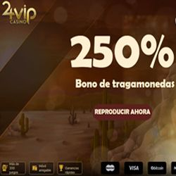 logo de BONO 250% 24VIP CASINO