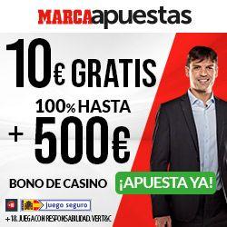logo de 20€ GRATIS MARCAAPUESTAS CASINO