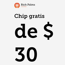 logo de 30$ GRATIS RICH PALMS CASINO