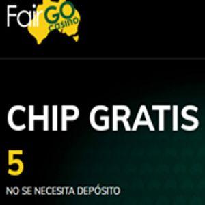 logo de 5$ GRATIS FAIRGO CASINO