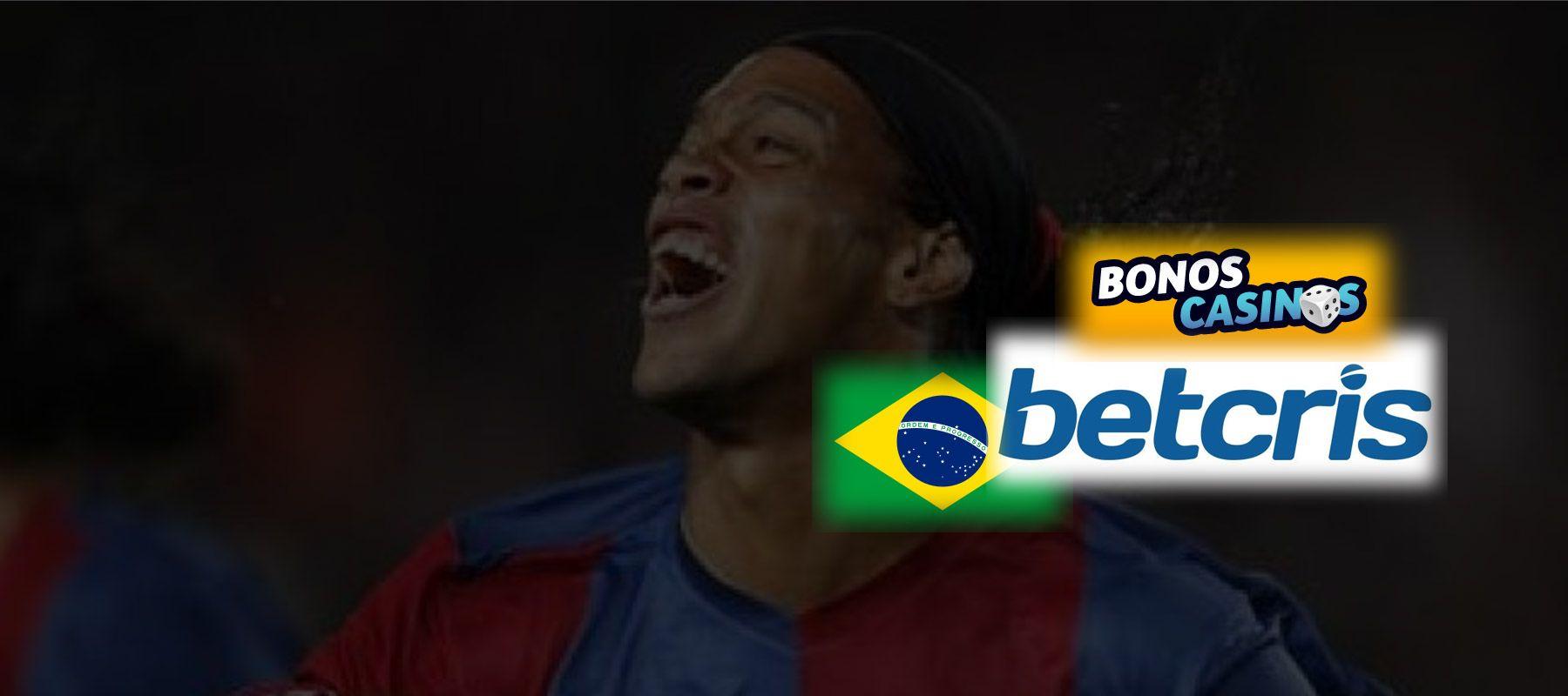 logo de Betcris posiciona una nueva marca en Brasil