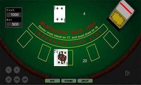 logo de Blackjack clasico