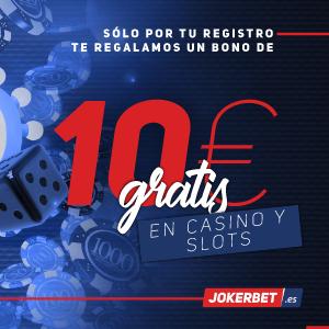 logo de 10€ SIN DEPÓSITO JOKERBET