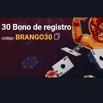 logo de 30$ GRATIS SIN DEPÓSITO BRANGO CASINO