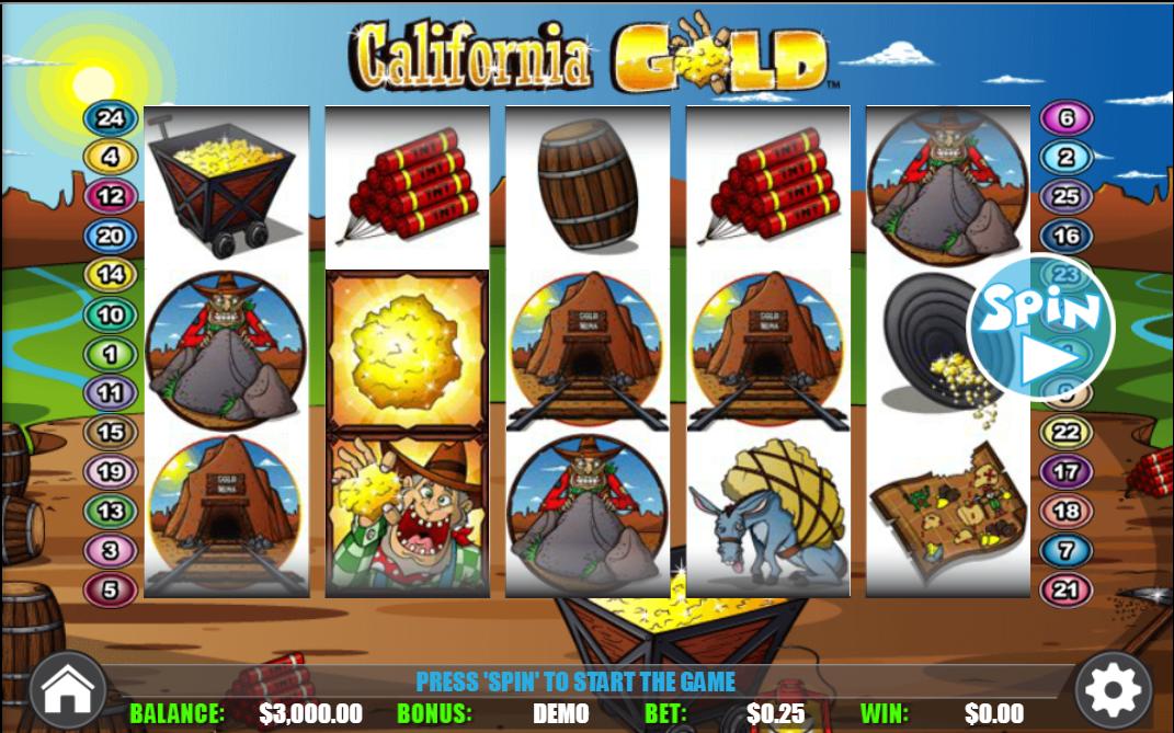 logo de California Gold