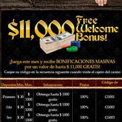 logo de PACK BIENVENIDA CAPTAIN JACK CASINO HASTA 11.000$