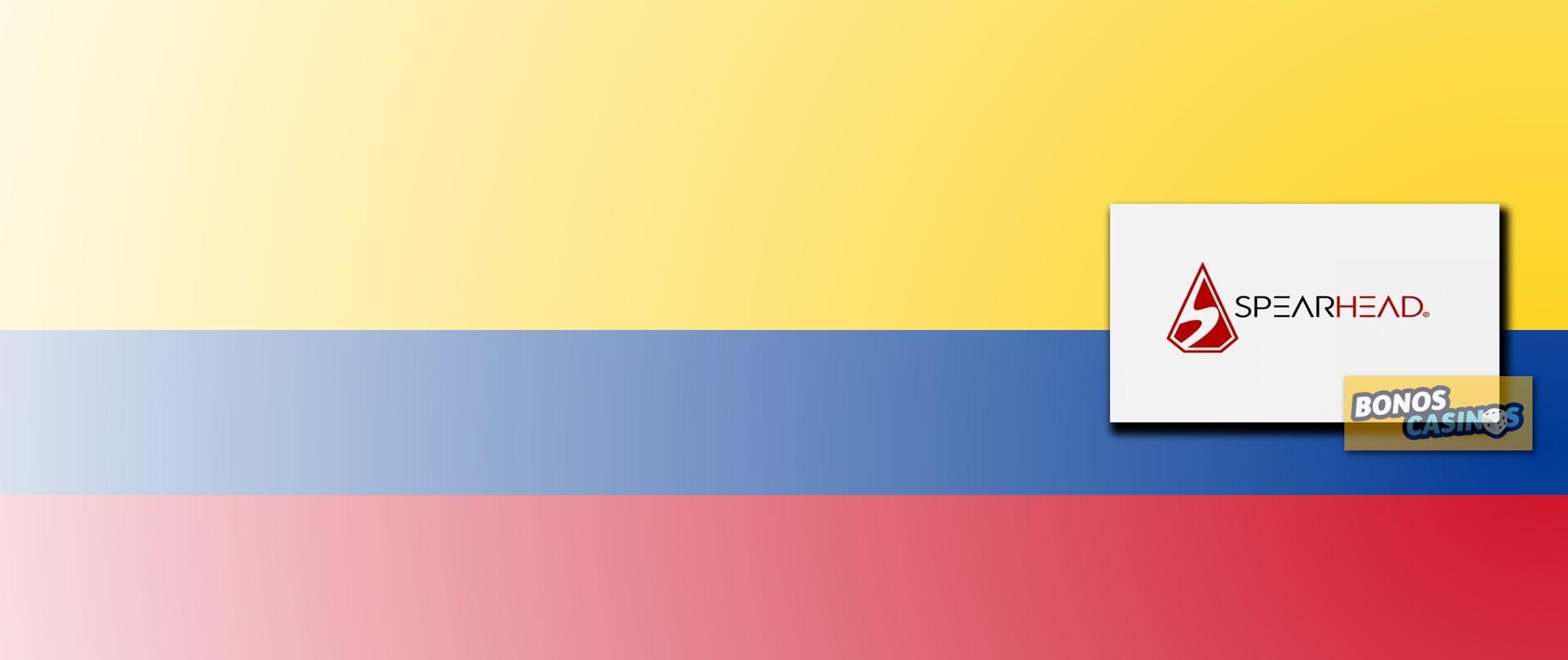 logo de Colombia, un mercado iGaming regulado que Spearhead Studios explotará