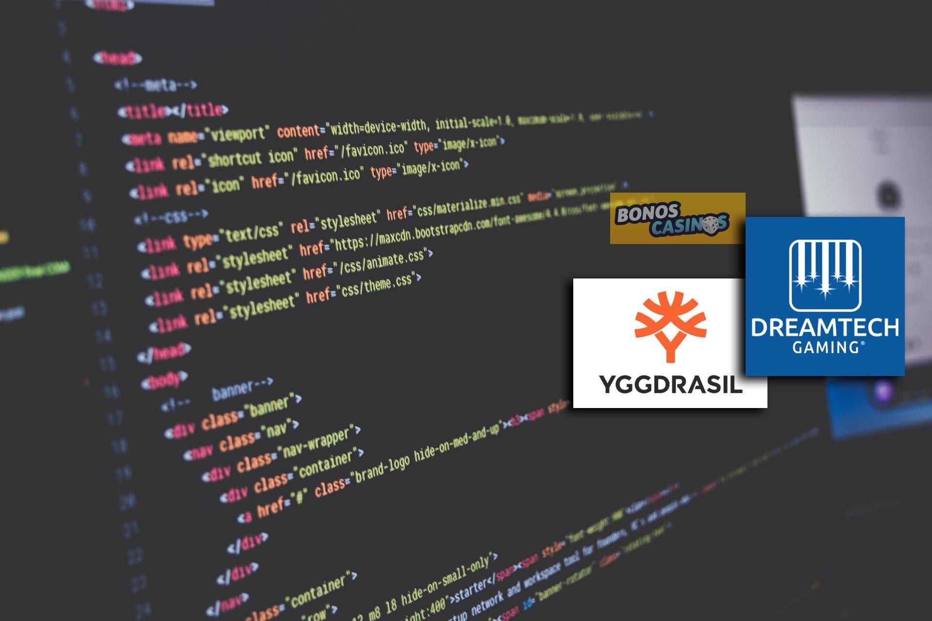 logo de DreamTech Gaming apuesta fuerte por la tecnología de Yggdrasil