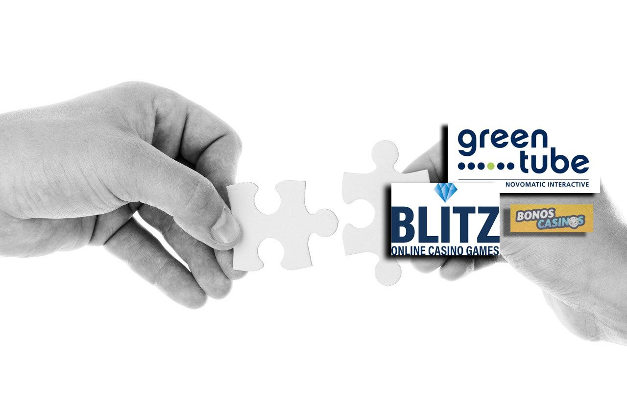 logo de Greentube y Blitz se asocian