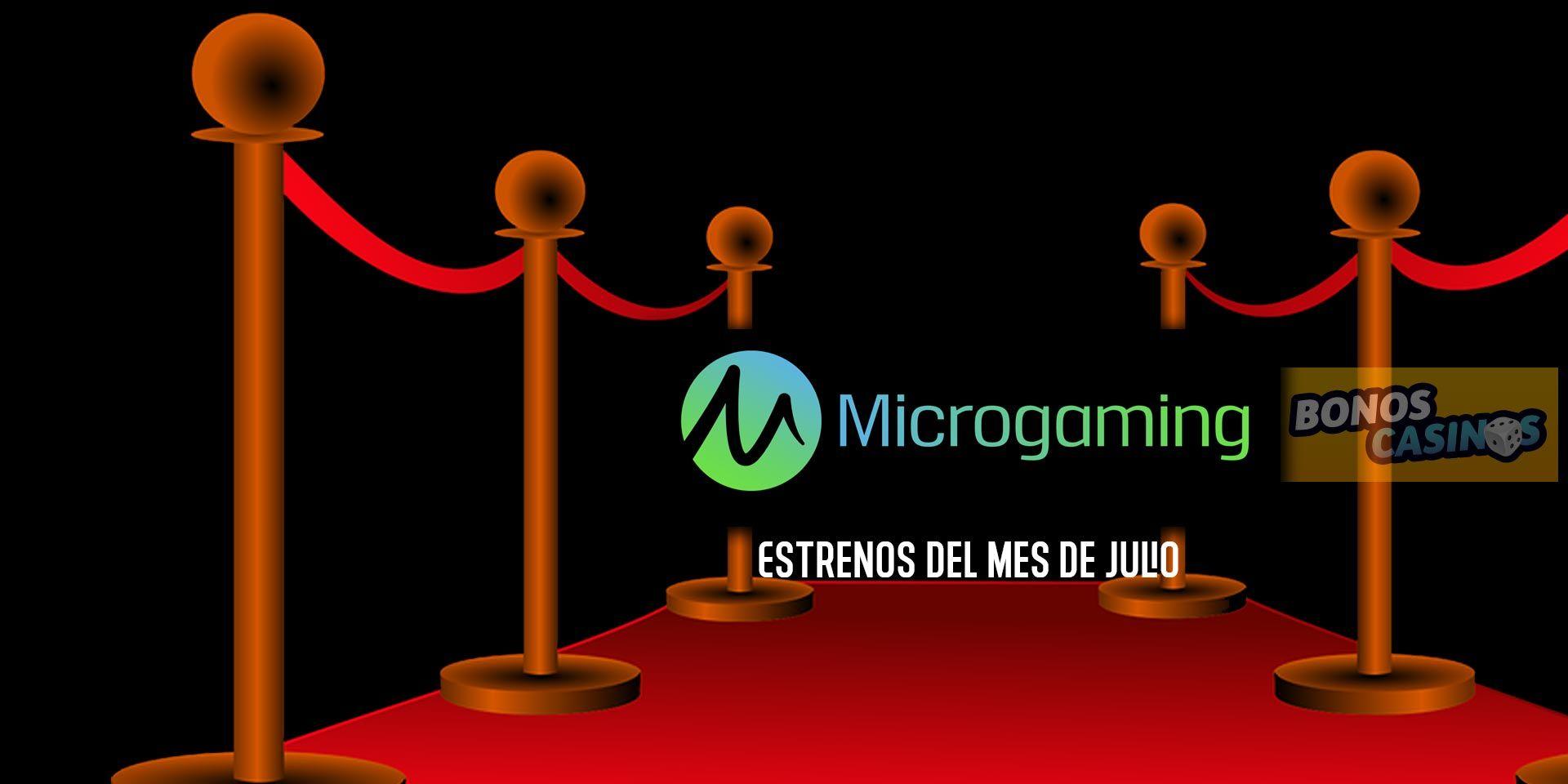 logo de Microgaming lanza nueva cartera de juegos para casinos