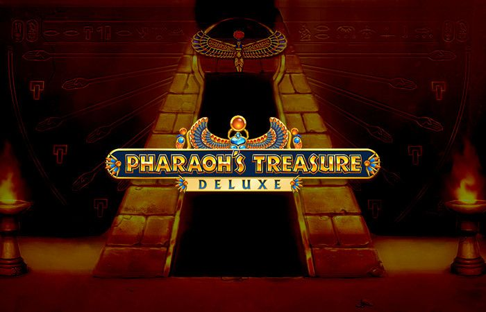 logo de Pharaohs Treasure Deluxe