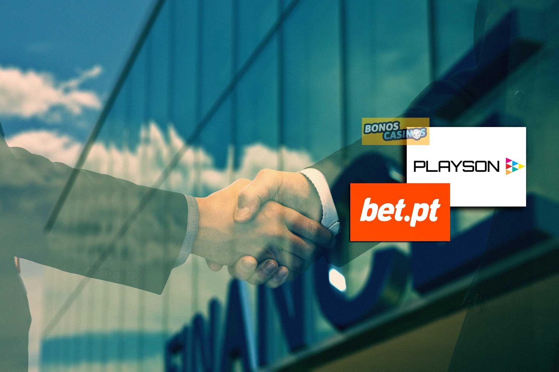 logo de Playson busca posicionarse en el mercado iGaming portugués