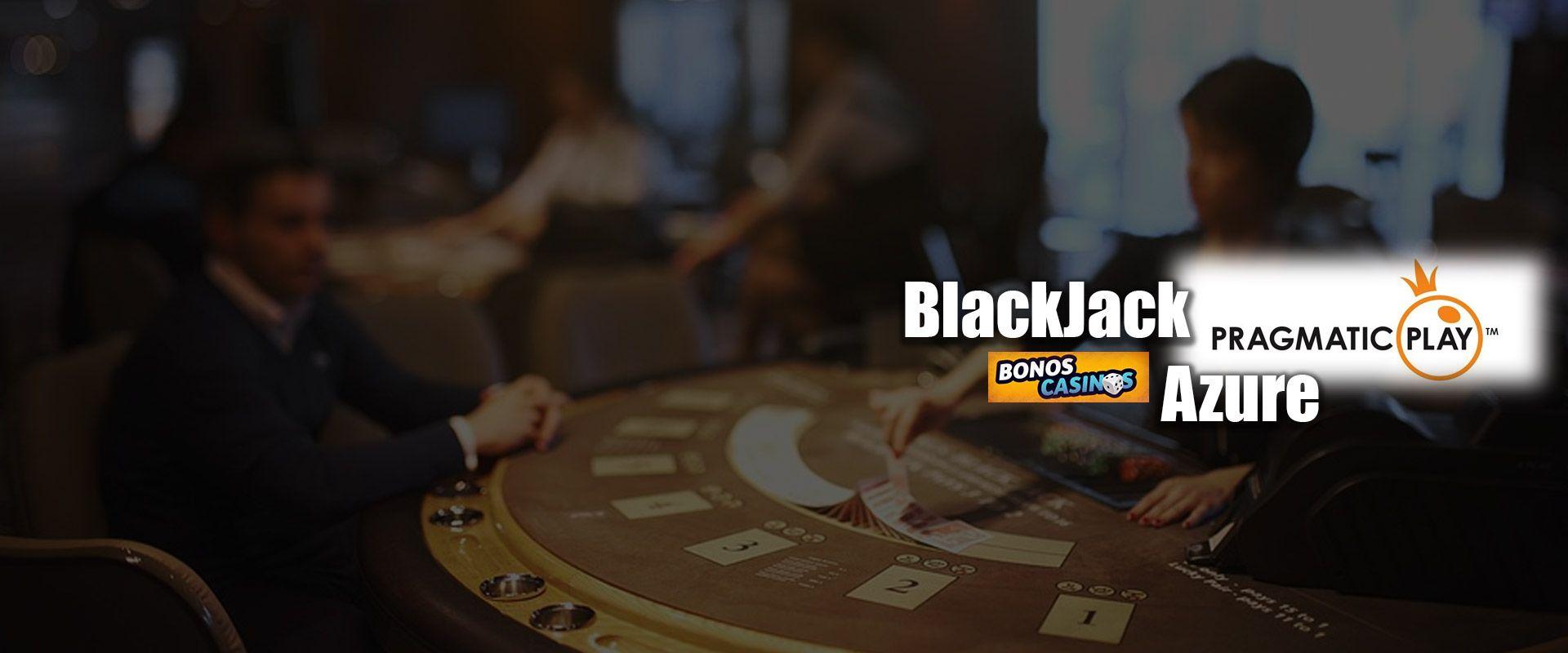 logo de La línea de BlackJack Azure de Pragmatic Play crece