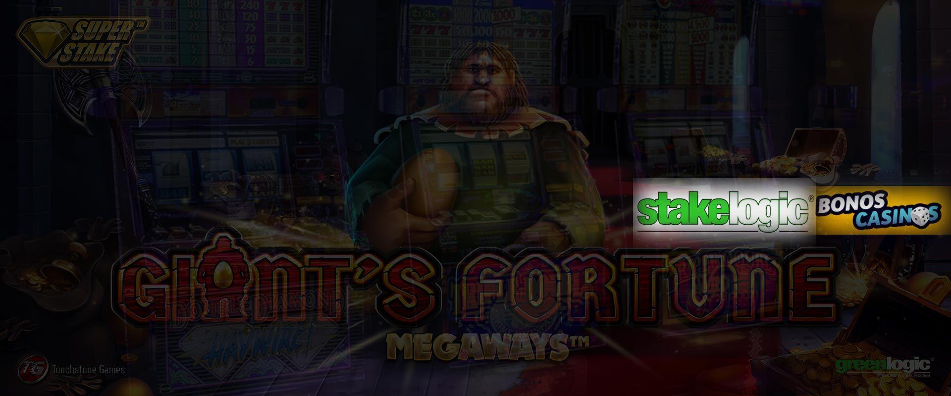 logo de Giant's Fortune Megaways, lo nuevo de Stakelogic