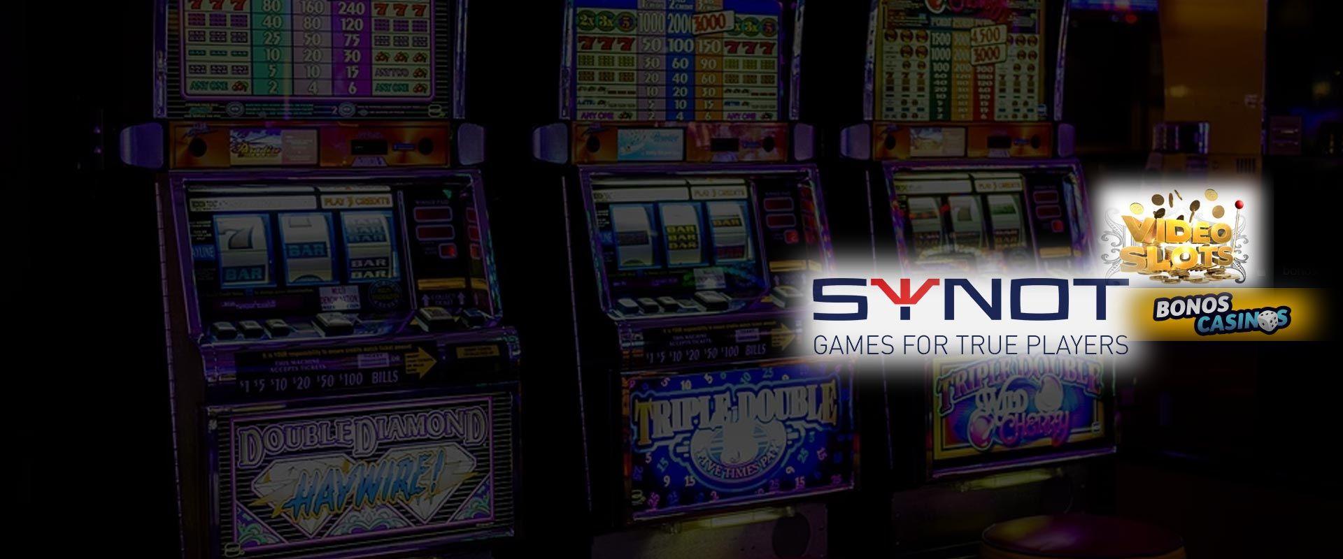 logo de SYNOT lanza nueva línea de tragamonedas en línea