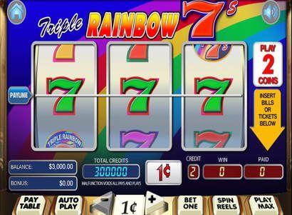 logo de Triple rainbow 7s
