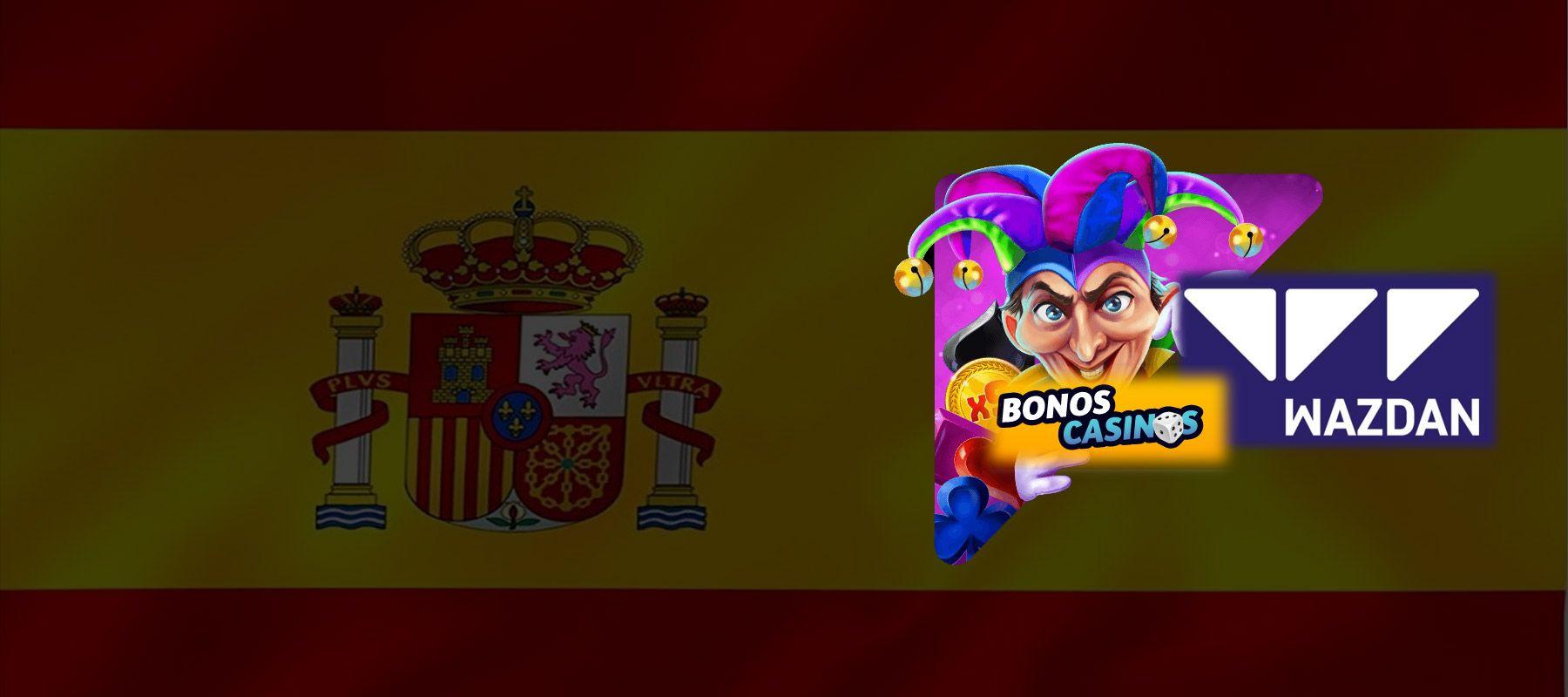 logo de Wazdan está listo para conquistar España