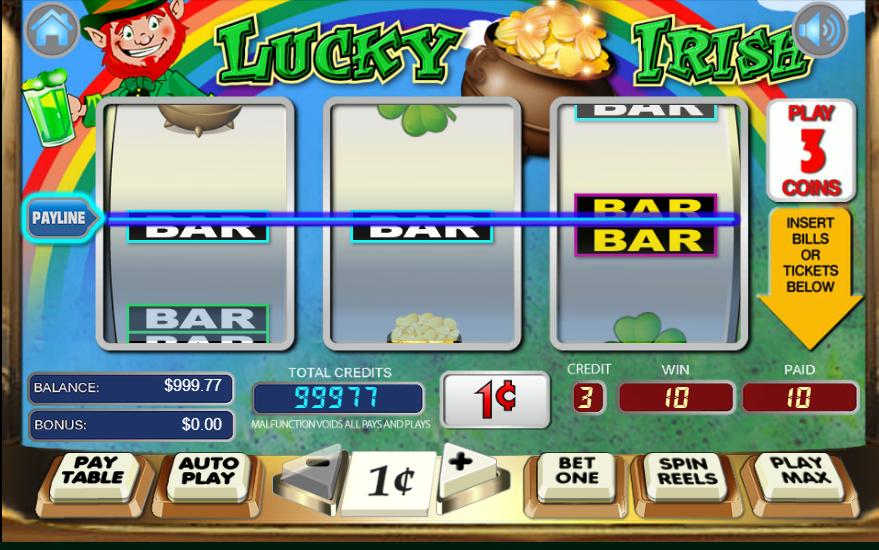 logo de Lucky Irish
