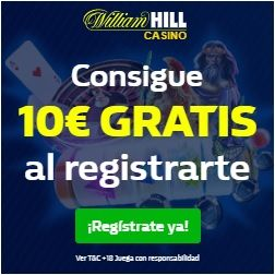 logo de BONO 10€ GRATIS WILLIAM HILL