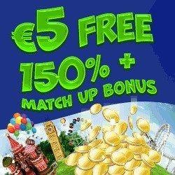 logo de 5€ GRATIS WINSPARK CASINO