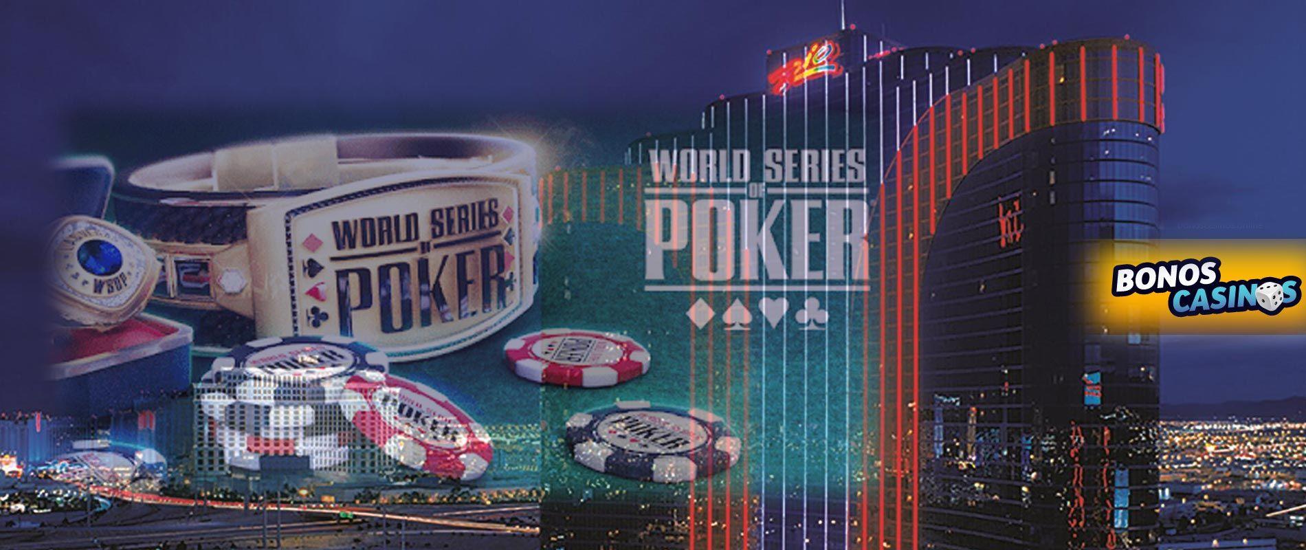 logo de La Serie Mundial de Póker está lista para comenzar
